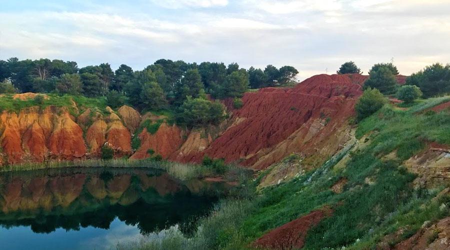 Il lago Rosso di Otranto