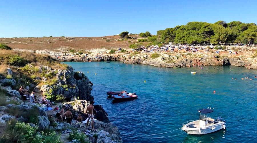 La costa a porto Badisco