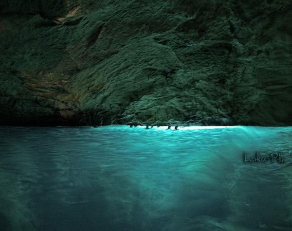 L'interno della grotta
