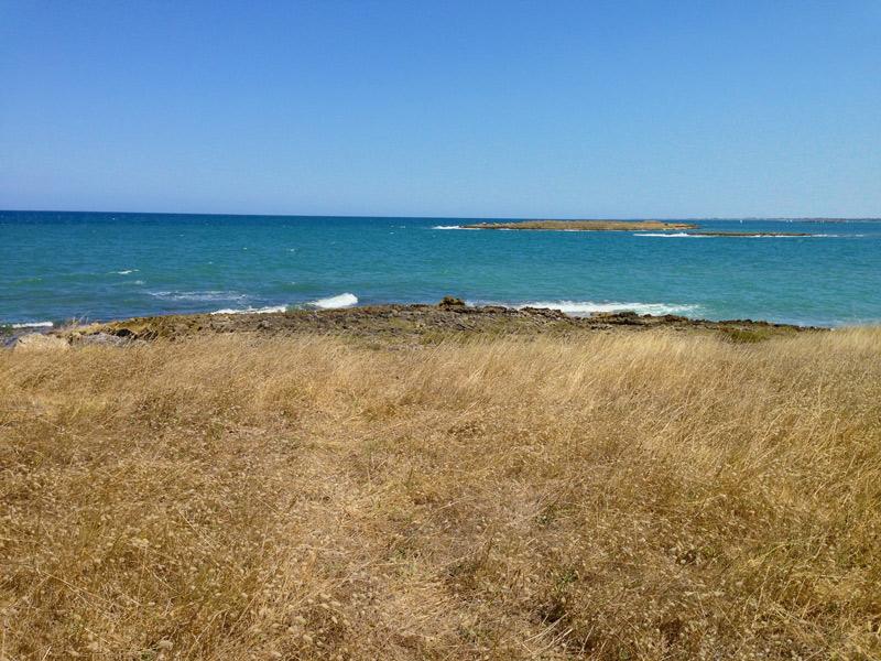 Le 2 isole visibili dalla terraferma