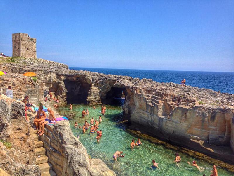 Risultati immagini per piscina naturale marina serra