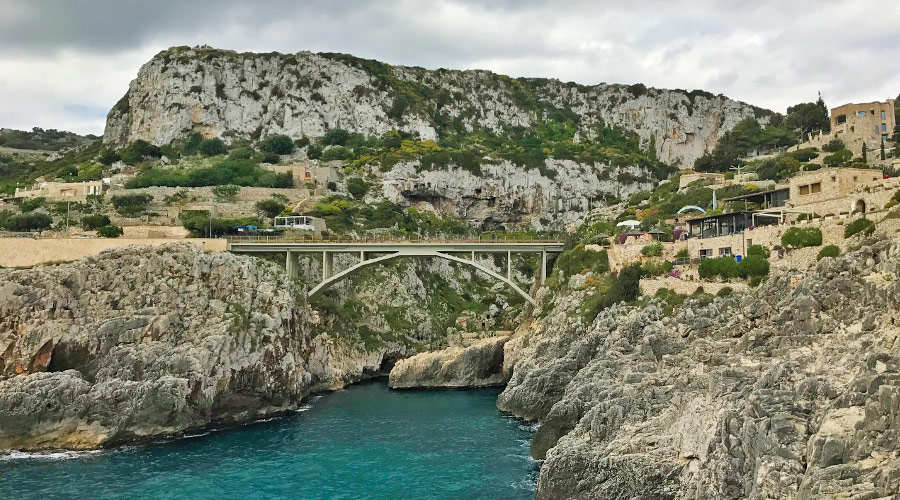 Ponte Ciolo a Santa Maria di Leuca