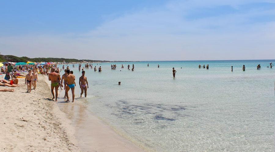 La spiaggia di Punta Prosciutto