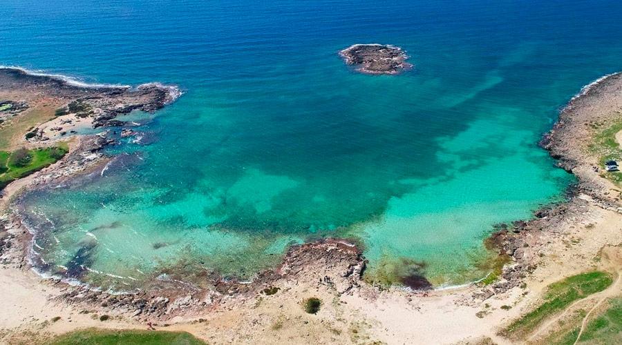 La spiaggia del Frascone vicino Sant'Isidoro