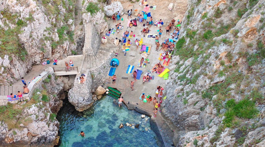 Spiaggia del Ciolo - Santa Maria di Leuca