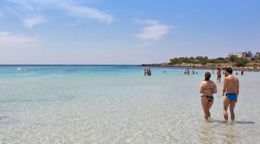 Acqua cristallina Punta Prosciutto