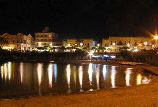 Spiaggia di Santa Maria al Bagno di Notte