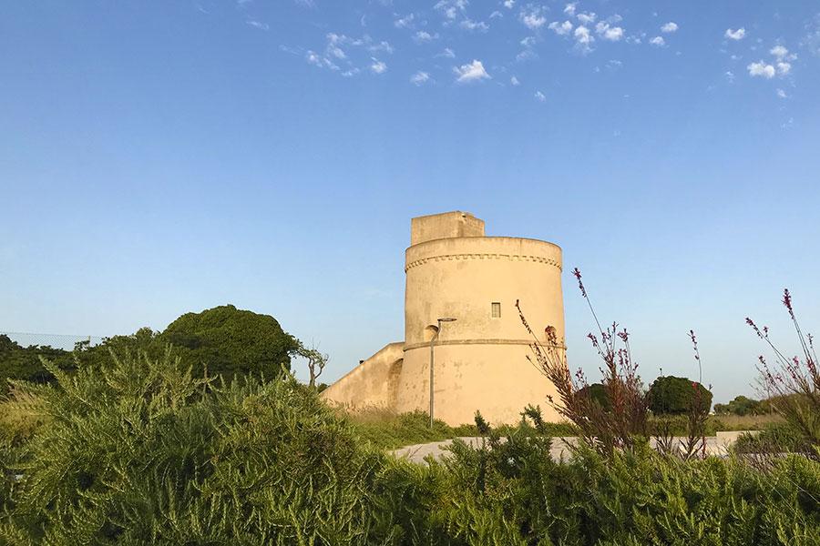 La Marina di Racale: Torre Suda